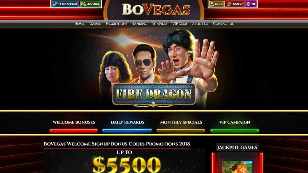Bo Vegas Casino Review For Aussie Players Claim 250 Welcome Bonus